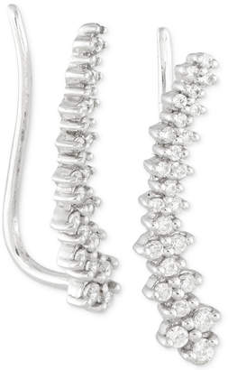 Wrapped in Love Diamond Ear Crawlers (1/4 ct. t.w.) in 14k White Gold, Created for Macy's