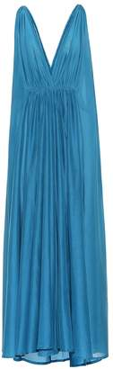 Kalita Clemence cotton and silk maxi dress