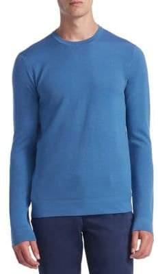 Saks Fifth Avenue COLLECTION Tech Merino Wool Crewneck Sweater