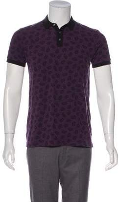 Marc by Marc Jacobs Paisley Print Polo Shirt w/ Tags
