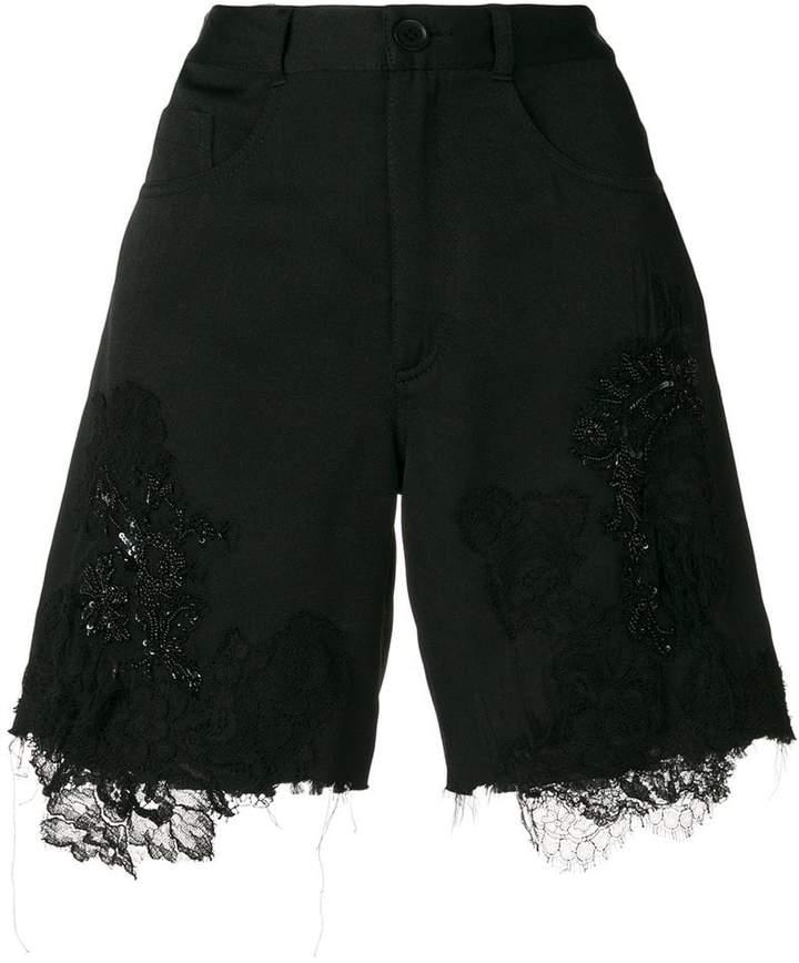 Almaz lace insert shorts