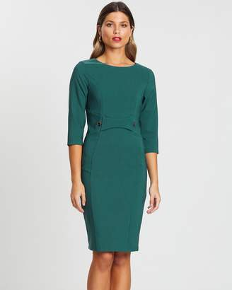 Forcast Lilah Panelled Dress