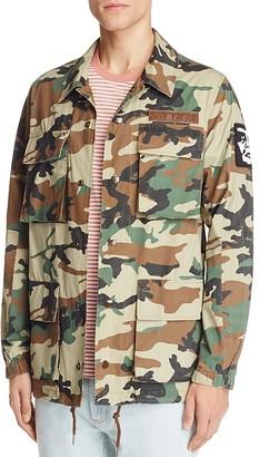 Obey Tripper Camo Print Jacket $99 thestylecure.com