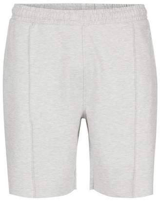 Topman Mens Grey Gray Pleat Jersey Shorts