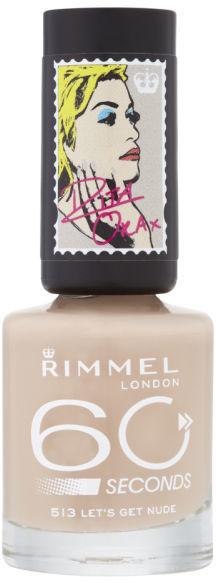 Rita Ora for Rimmel London 60 Seconds Nail Polish - Let's Get Nude
