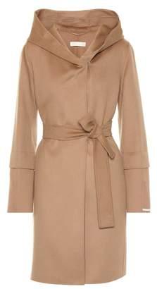 Max Mara S BB hooded wool coat