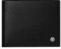 Montblanc Men's Logo Leather Bi-Fold Wallet