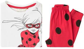 MANGO Girls Ladybug Long Pyjamas