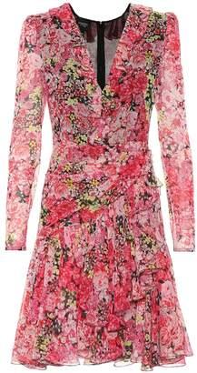 Giambattista Valli Floral silk minidress