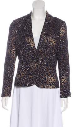Tory Burch Printed Notch-Lapel Blazer w/ Tags