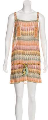 Missoni Abstract Pattern Mini Dress