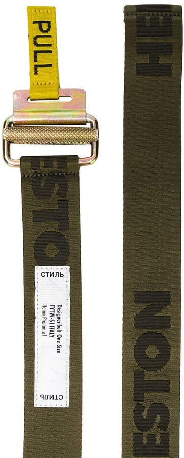 Heron Preston Packing tape belt