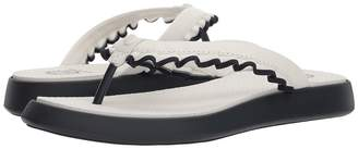 Tory Sport Ruffle Thong Sandal Women's Sandals