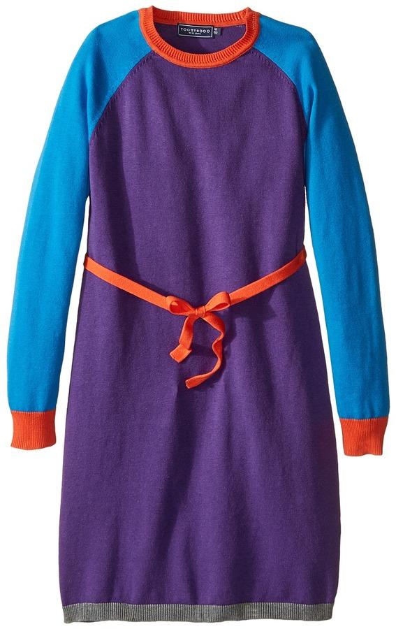 Toobydoo Caroline Belted Sweater Dress (Toddler/Little Kids/Big Kids)