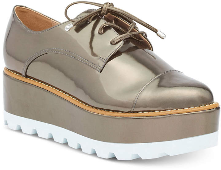 Dkny Uptown Oxford Flats, Created For Macy's