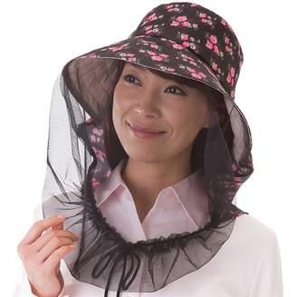 ベルーナ (ベルーナ) - ベルーナ 虫よけネット付き日よけ帽子 ベージュ 1個 レディース
