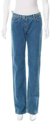 See by Chloe Mid-Rise Straight Leg Jeans