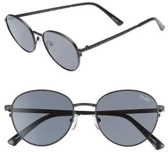 Quay Crazy Love 45mm Round Sunglasses