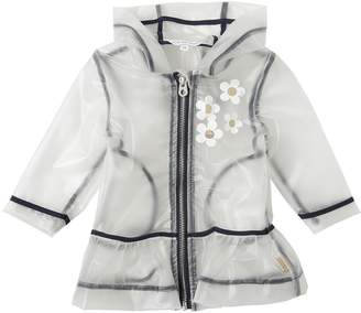 Little Marc Jacobs Pvc Rain Coat W/ Daisies