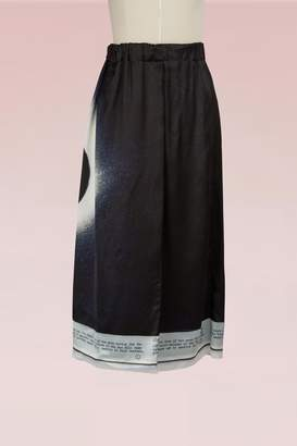 Maison Margiela Moon Eclipse Printed Skirt