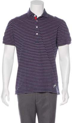 Michael Bastian Striped Polo Shirt