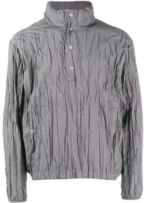 Issey Miyake pleated lightweight jacket
