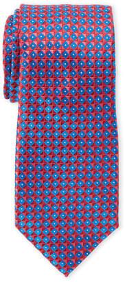English Laundry Perry Ellis Portfolio Rovell Geometric Silk Tie