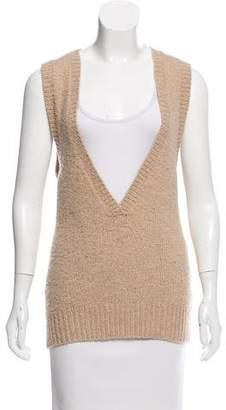 Theory Sleeveless Merino Wool Sweater
