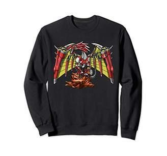 Dragon Optical Robot Fire Monster Fantasy Machine Kids Boys Sweatshirt