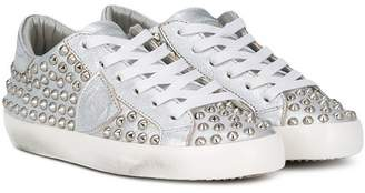 Philippe Model Kids studded sneakers