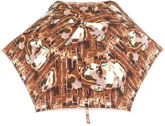 Jean Paul Gaultier Pre-Owned face printed umbrella
