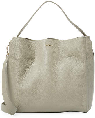 Furla Capriccio Leather Hobo Bag