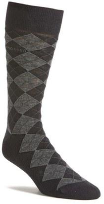 Men's Boss 'John' Argyle Socks $17 thestylecure.com