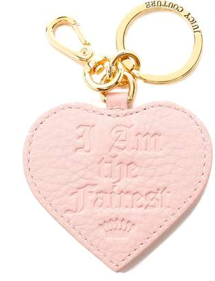 Juicy Couture I Am the Fairest Leather Key Fob