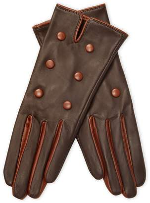 Maison Fabre Women's Buttoned Leather Gloves