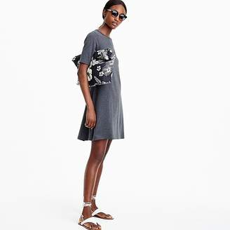 J.Crew Tall short-sleeve knit dress