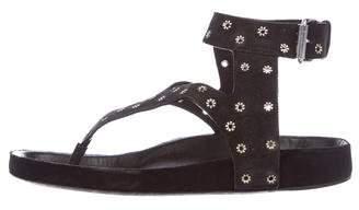 Isabel Marant Elwina Eyelet Sandals