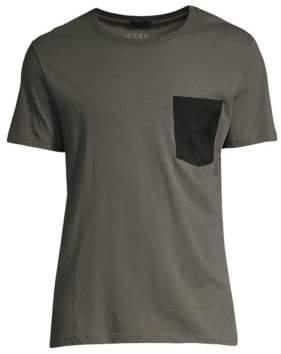 ATM Anthony Thomas Melillo Contrast Patch Pocket Jersey T-Shirt