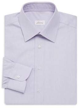 Brioni Classic Fit Stripe Dress Shirt
