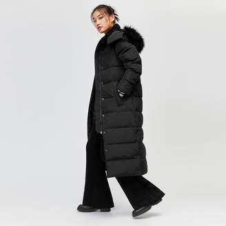 Warehouse Maxi Padded Hooded Coat