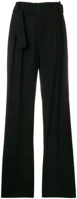 Vince high waisted wide leg trousers