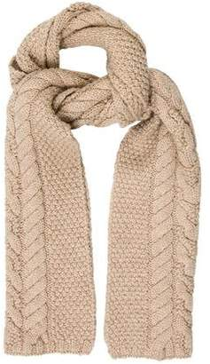 1636de6b75a Pre-Owned at TheRealReal · Magaschoni Merino Wool Cable Knit Scarf