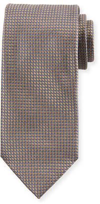 Brioni Men's Diamonds-Pattern Silk Tie
