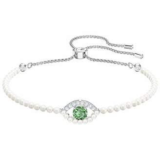 Swarovski Women Stainless Steel Tennis Bracelet - 5429733