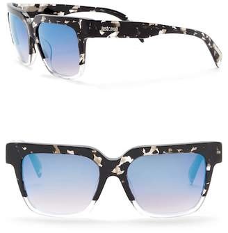 Just Cavalli Square 53mm Plastic Sunglasses