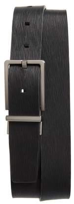 Calvin Klein Saffiano Leather Belt