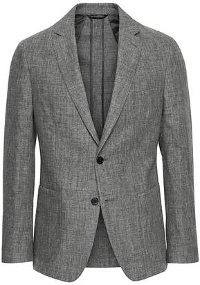 Banana Republic Slim Linen Suit Jacket