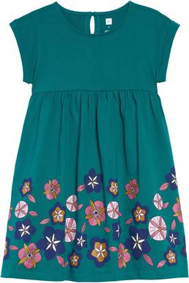 Tea Collection Floral Print Empire Dress