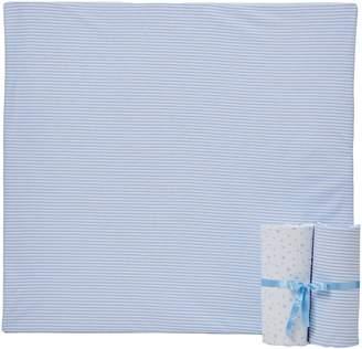 Clair De Lune Printed Cot Bed (Pale Blue 3-Piece)