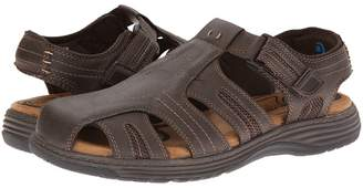 Nunn Bush Ripley Closed-Toe Fisherman Sandal Men's Hook and Loop Shoes